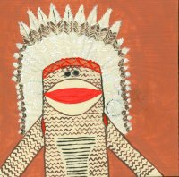 2004 ARTIST OWNED! - Chief Sitting Monkey