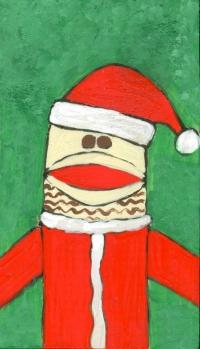 2004 - Santa Sock Monkey